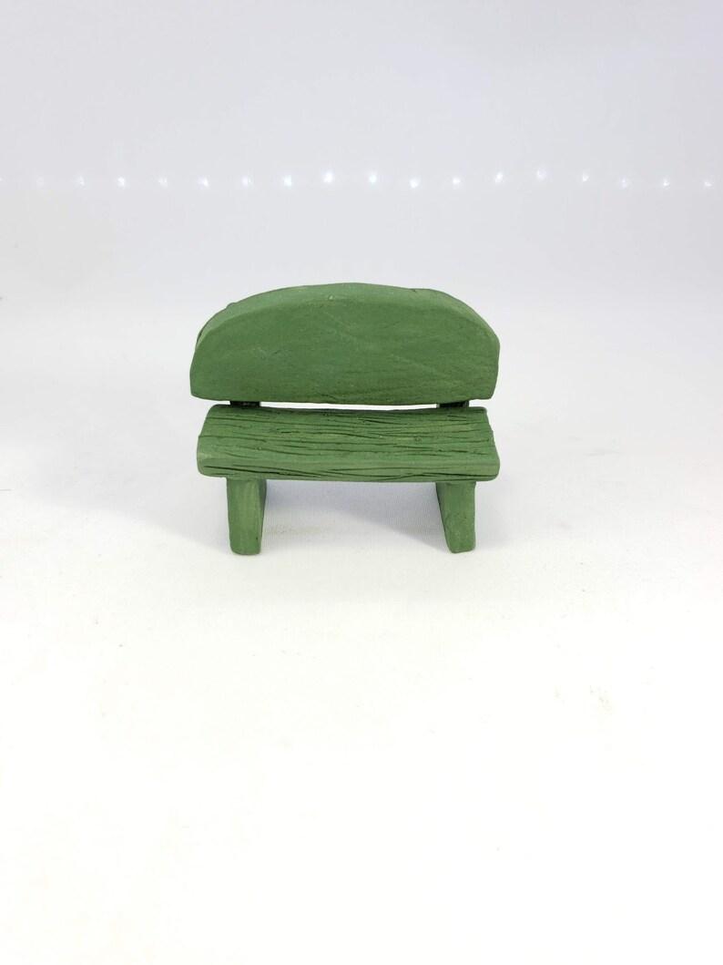 Incredible Miniature Green Ceramic Bench Fairy Garden Bench Miniature Bench Fairy Bench Fairy Garden Furniture Small Bench Ceramic Bench Spiritservingveterans Wood Chair Design Ideas Spiritservingveteransorg