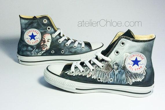Custom Film Shoes TV Show Art Movie Converse Hand Painted  1c982213b