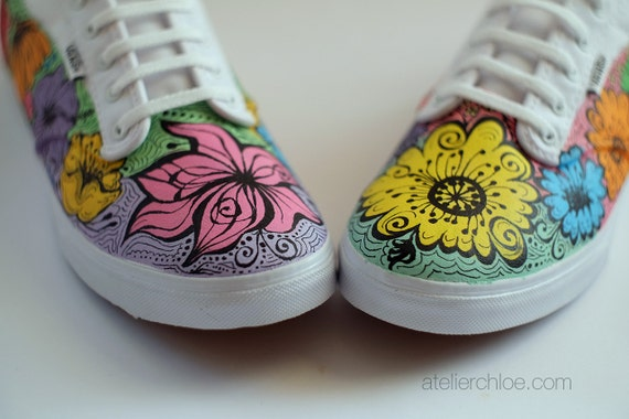 shoes vans beautiful girl girls flowers nature stamp flower