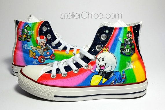 63e9d2e53344 Hand Painted Converse Custom Sneakers Painted Shoes Gift for