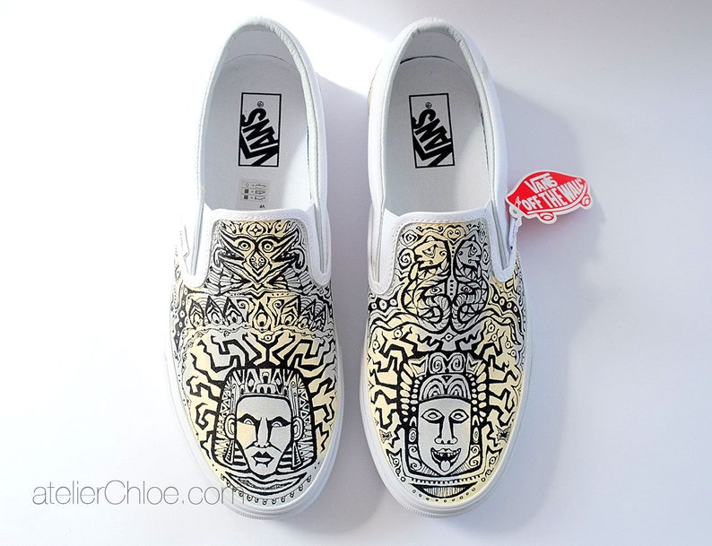 Scarpe Vans Aztec Boho scarpe Vans etnica tribale scarpe LQm3ix4S