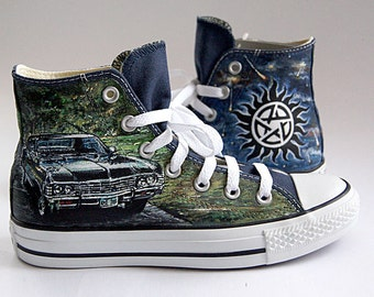 Customized  converse painted sneakers hand painted converse fanart shoes  any character and design mens womans gift Holiday gift guide
