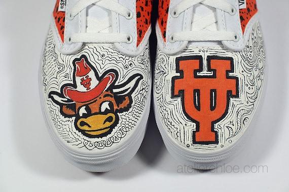 Supernatural Logo à Lacets Toile Chaussures Haute Cheville Unisexe Baskets