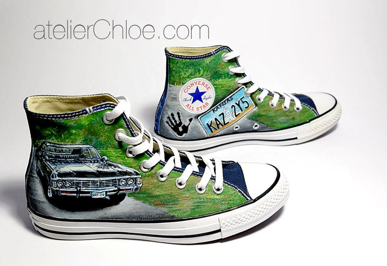 cdcbb9367d0 Custom Movies Shoes Painted Converse Custom Vans Character