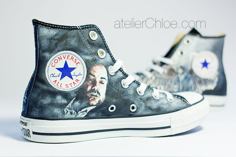 aa29b0549a0 Custom Film Shoes TV Show Art Movie Converse Hand Painted