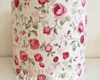 Rose Fabric Lampshade