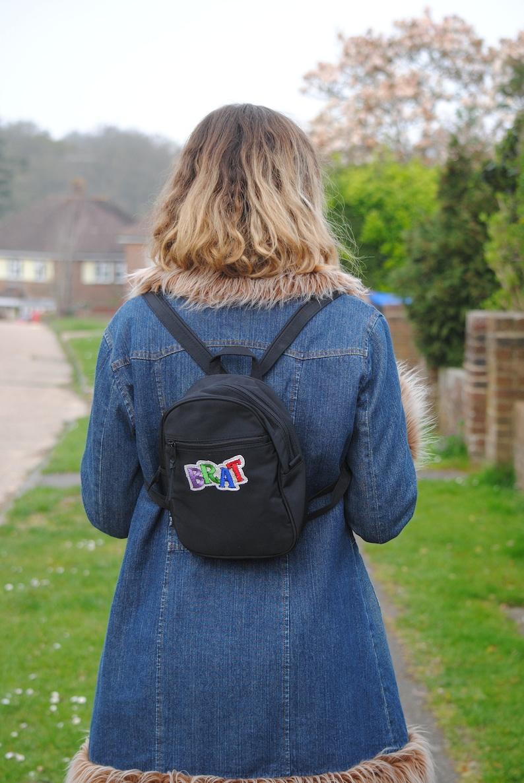 90sY2K Vintage Deadstock Brat Mini Backpack Rucksack Bag
