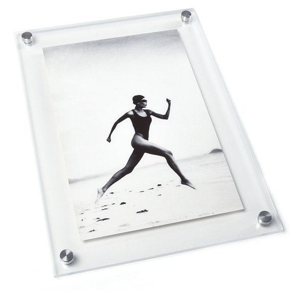 11.5x14 Vetro Stand-Off Frame for | Etsy