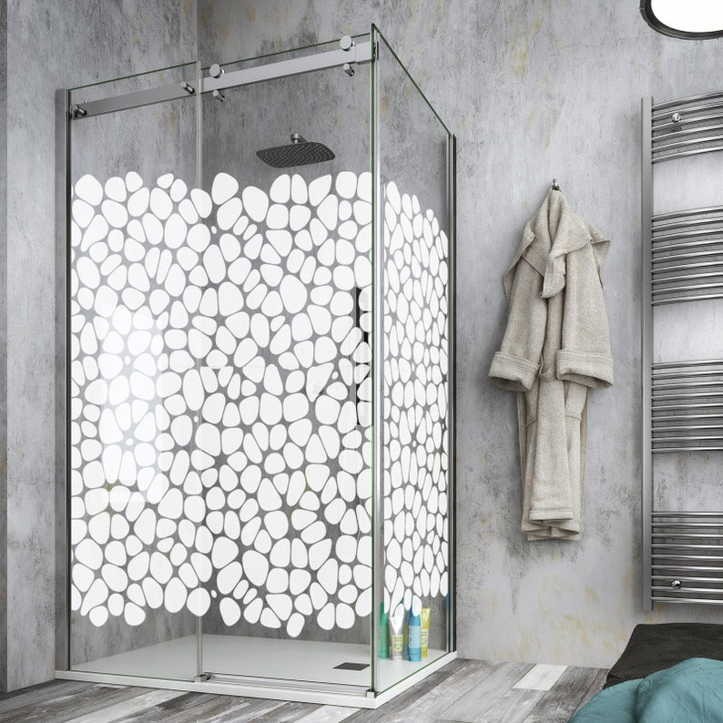 wall stickers Wall stickers BX0027 Stickers printed on transparent PVC ideal for decorating your shower box decor design
