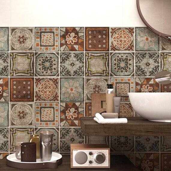 Ps00167 Cancun Kleje Pcv Do Płytek Do łazienki I Kuchni Dekoracje Ceramiczne Różne Rozmiary