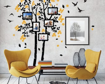 """01411 """"Remember among the branches"""" Wall Stickers Decoration trees"""