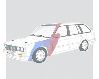 Personalised Car Portrait