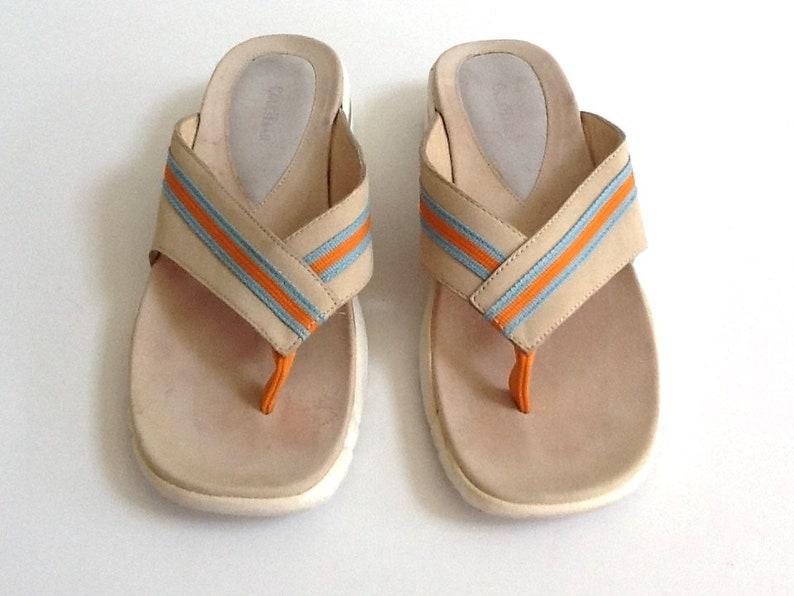 0bfa8e4e448 Vintage Cole Haan Nike Air Thong Sandals Women s Size 9.5