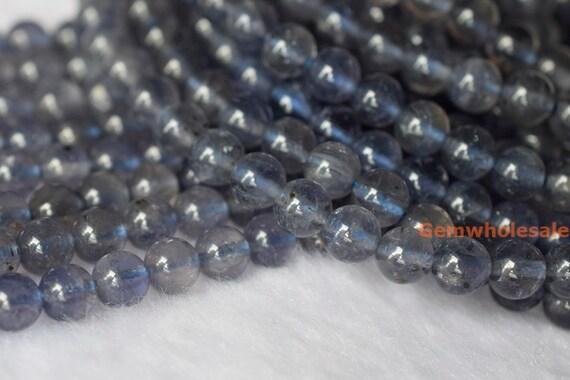 Piedra preciosa natural de ojo de tigre suelto redonda con cuentas fornituras 6mm-10mm Nuevo