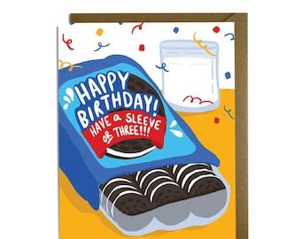 Funny Birthday Card - Oreos, Cookies