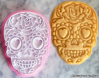 Sugar Skull Day of the Dead Cookie Cutter