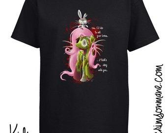 Zombie Fluttershy MLP:FiM T-Shirt