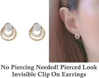Lightweight stylish dangle earrings Invisible clip-on or steel ear hooks Chinese Butterfly earrings for pierced or non-pierced ears