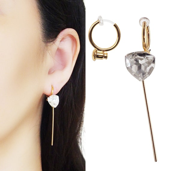 Ready for gift giving. Earrings Clips invisible clip on earrings Everyday jewelry