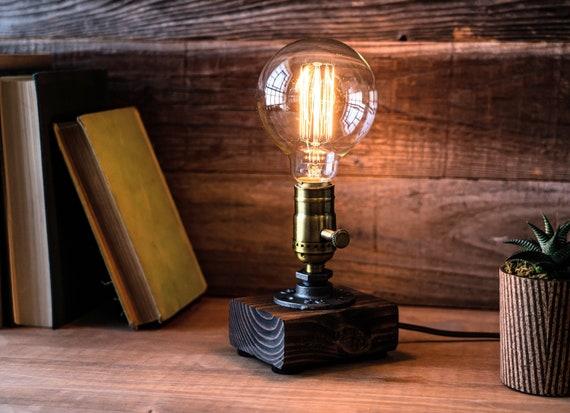 Table Lamp Desk Edison Steampunk, Small Farmhouse Table Lamp