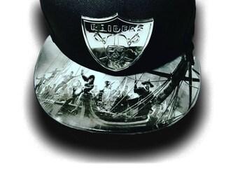 45752540d7cc9 Oakland Raiders Elite Pillage Snapback