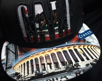 Rep Your CityCali Snapback Your City in Color5 or more pictures collage