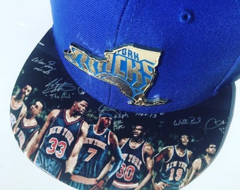 official photos a5d15 e8e95 SPORTS Fan CUSTOM HATS    New York Knicks Cap knicks   On Sale