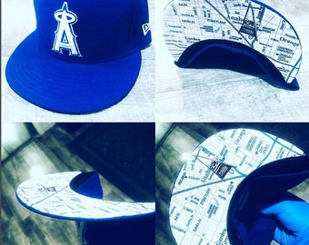 Anahiem Angels Rep Your City 59Fifty | 9Fifty Snapback  Your City Request on the