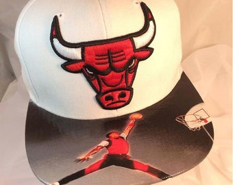 ac79f930 SPORTS Fan CUSTOM HATS || Chicago Bulls Authentic Mitchell & Ness Snapback  Cap Custom | Elite Duo | |Hat|| On Sale