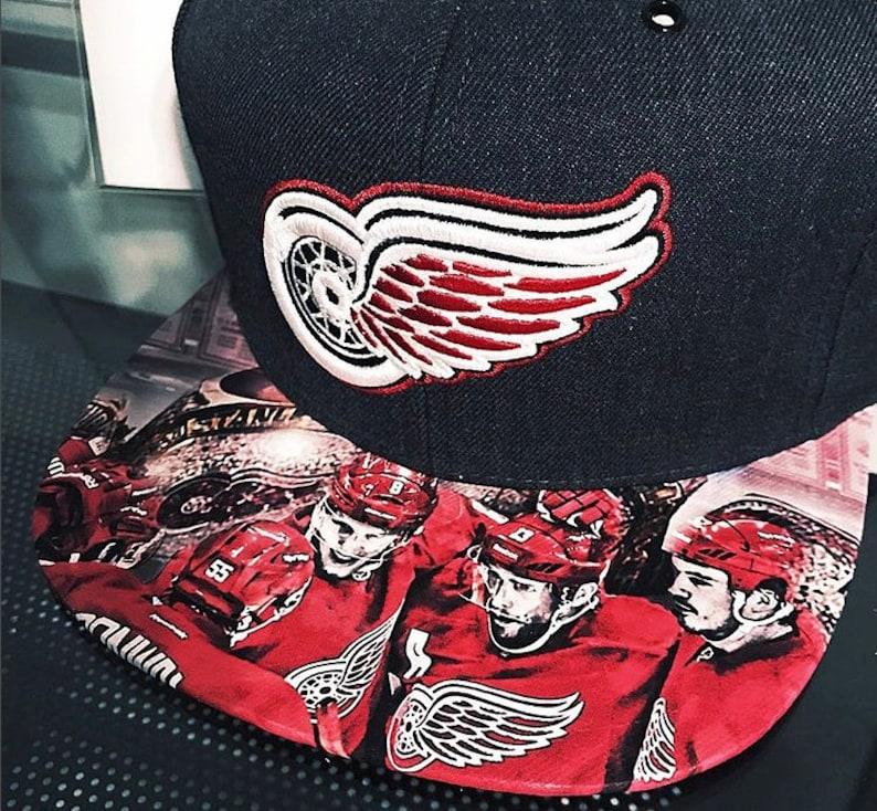Detroit Red Wings  Cap  Custom Cars Legacy image 0