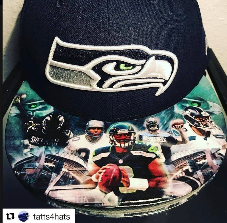 Seattle Seahawks Legends Authentic New Era Snapback and Fitted image 0