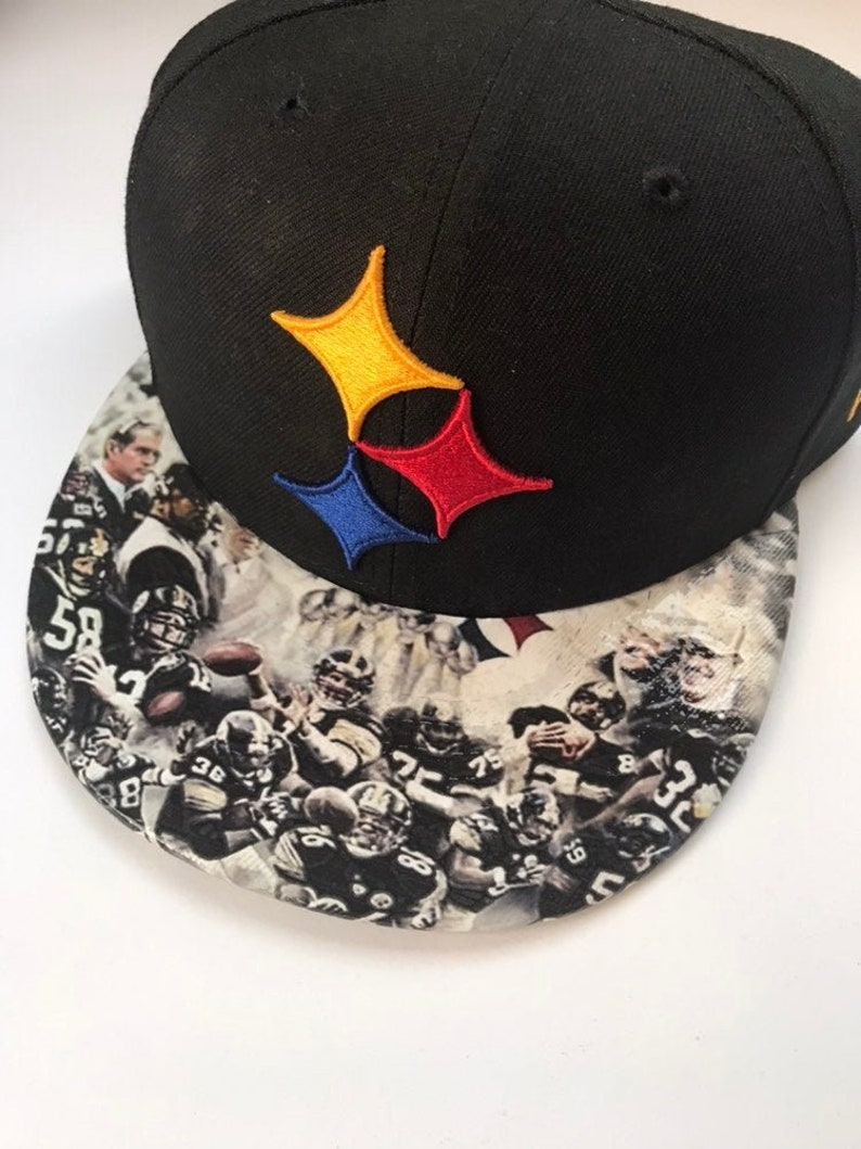Pittsburgh Steelers Snapback with Enlarged Logo and image 0