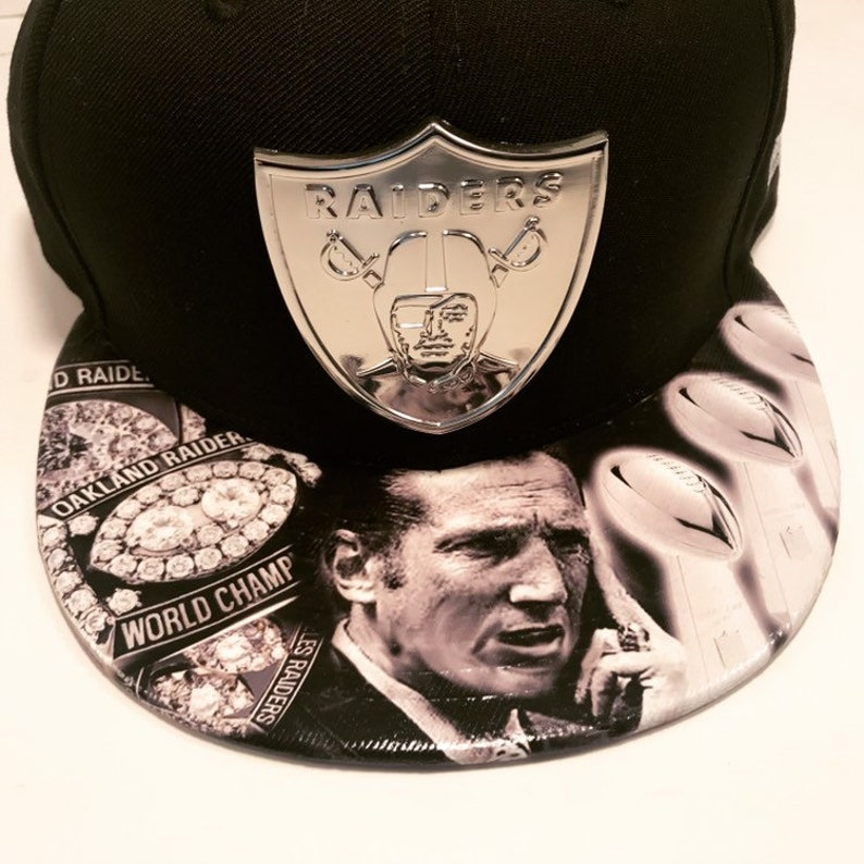 Oakland Raiders Elite Legacy AD Snapback  Medal Shield and image 0