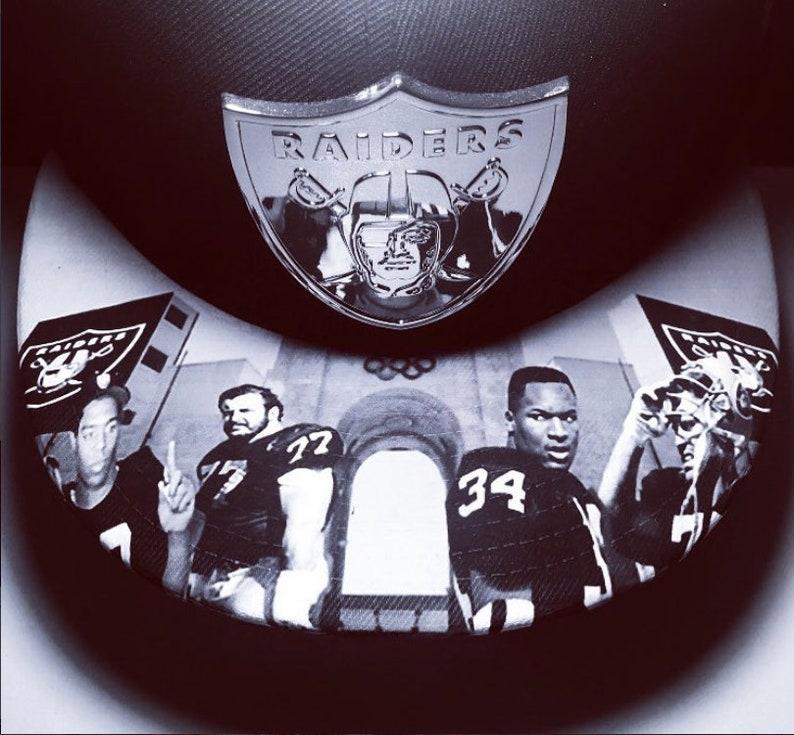 Raiders Coliseum Legends Snapback with Metal Badge image 0