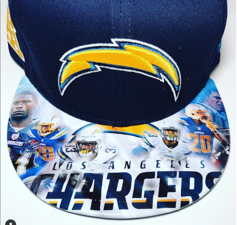 SPORTS Fan CUSTOM HATS  Los Angeles Chargers  New Item image 0