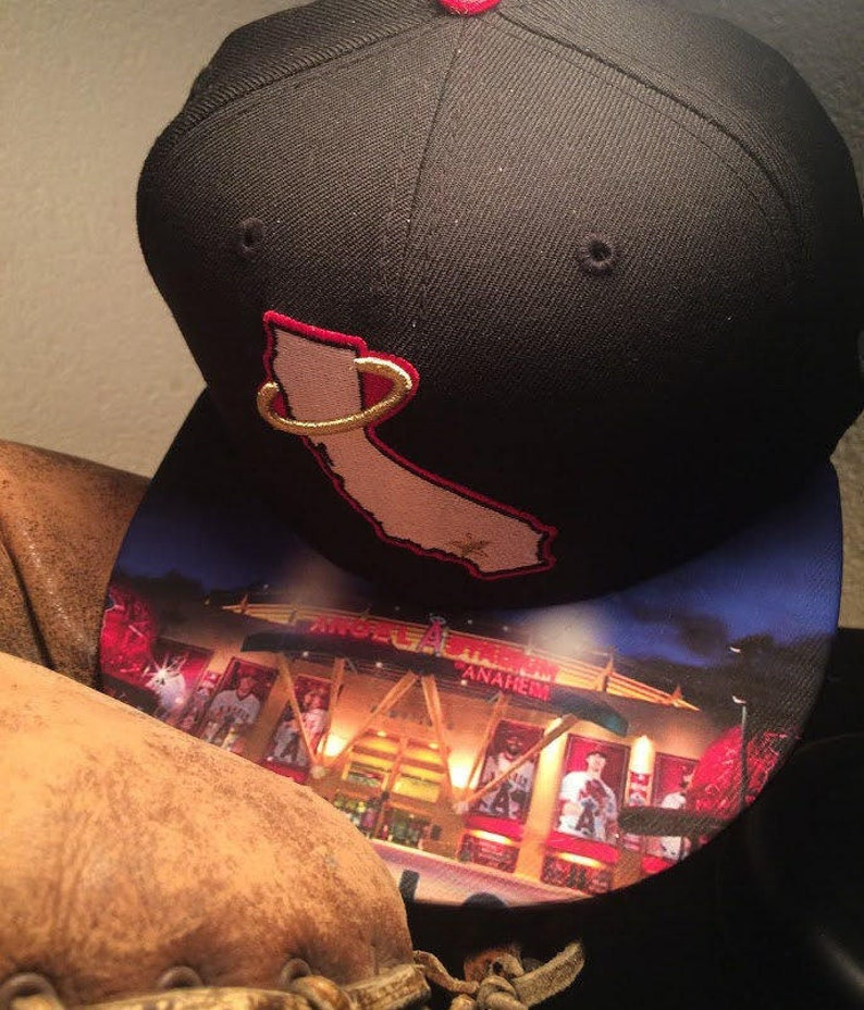 Anaheim Angels 9Fifty or 59Fifty Hat with Custom Stadium image 0