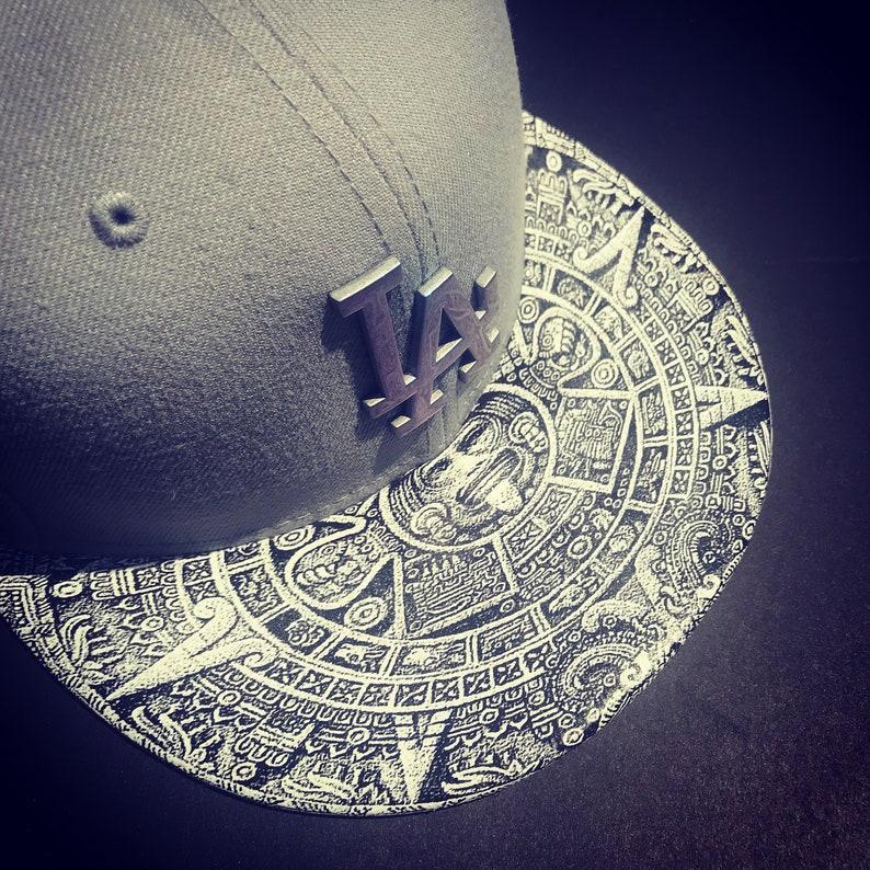 Los Angeles Dodgers Snapback Aztec Brim Gray with image 0