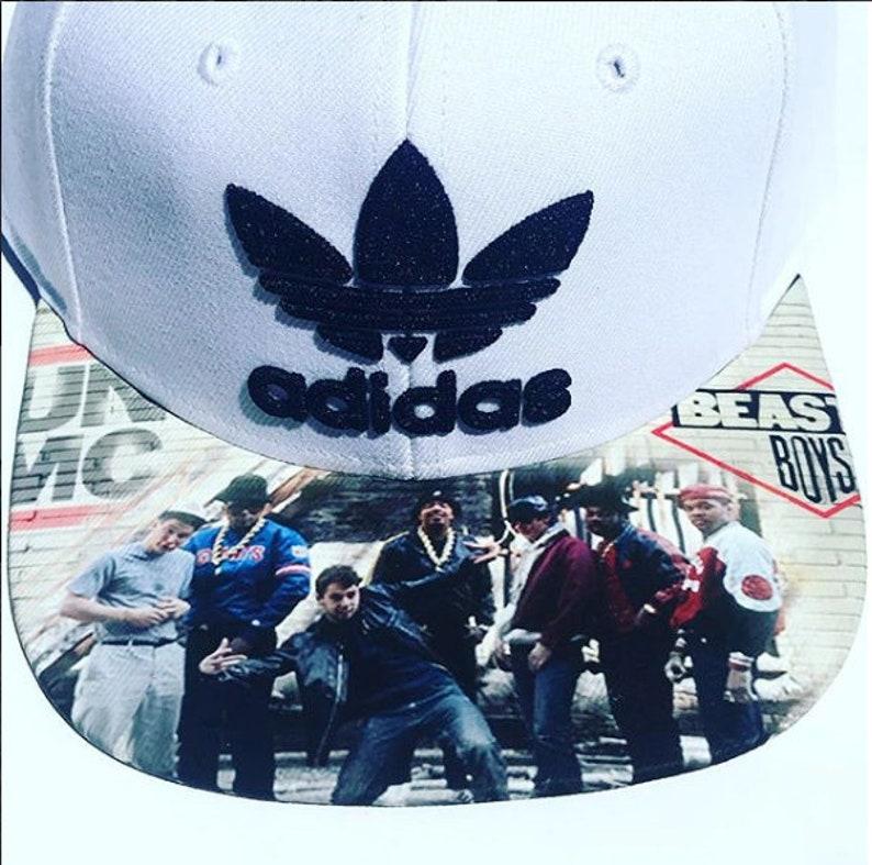 Adidas Snapback Hat  Run DMC and Beastie Boys Men's image 0