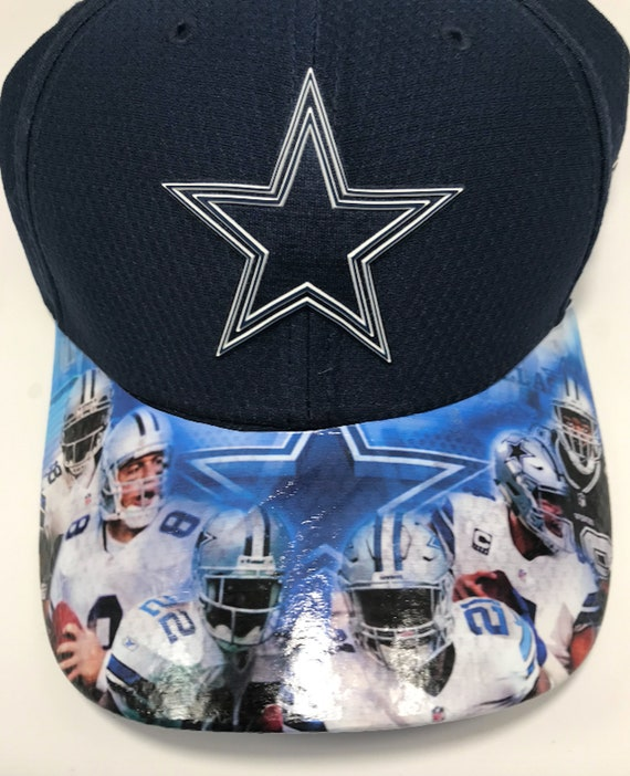 crazy price many styles lower price with Dallas Cowboys Custom Dad Cap Adjustable Cap with   Etsy