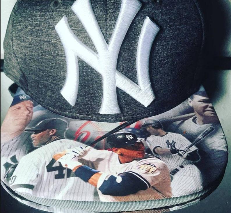 SPORTS Fan CUSTOM HATS  New York Yankees Custom Snapback or image 0
