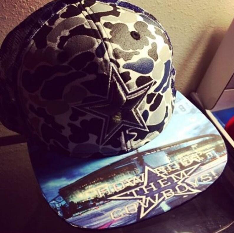 e6126303 SPORTS Fan CUSTOM HATS Dallas Cowboys New Era Snapback or | Etsy