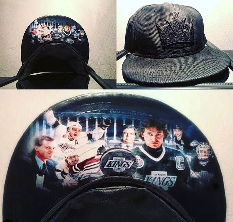 SPORTS Fan CUSTO  Los Angeles Kings Throwback 59Fifty Fitted image 0