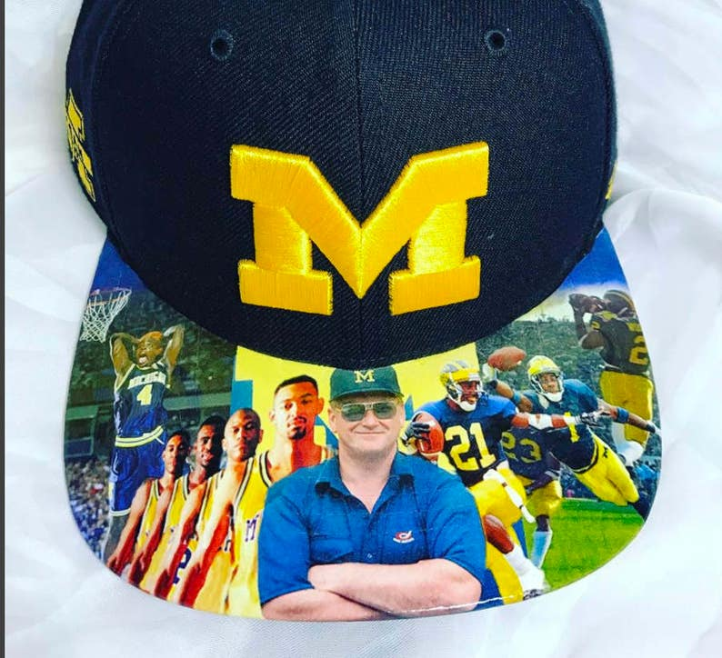 University of Michigan Wolverines Authentic Snapback   image 0