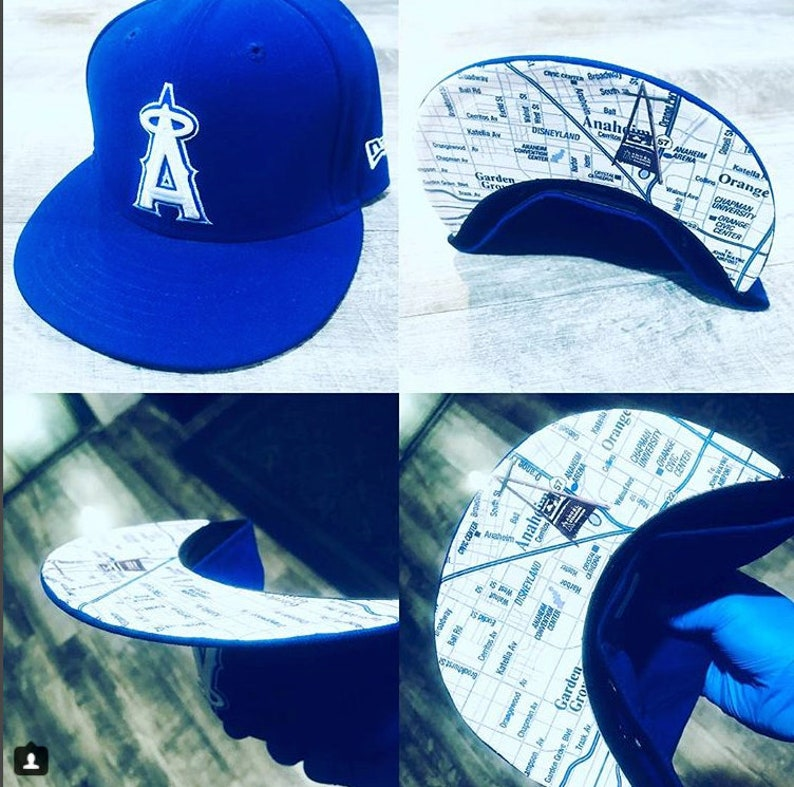 Anahiem Angels Rep Your City 59Fifty  9Fifty Snapback  Your image 0