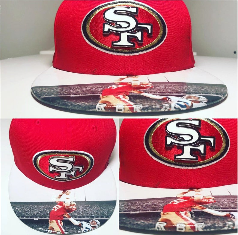 San Francisco 49ers  New Era Snapback or Fitted Cap The image 0