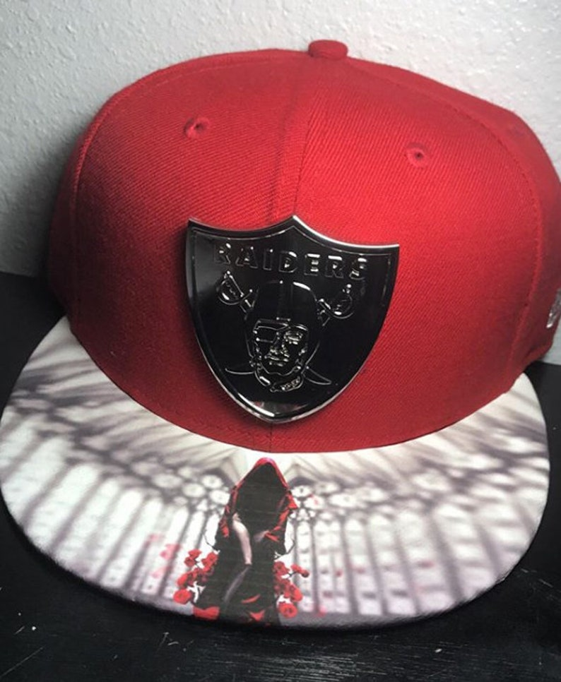 Oakland Raiders Authentic New Era Fitted Cap image 0
