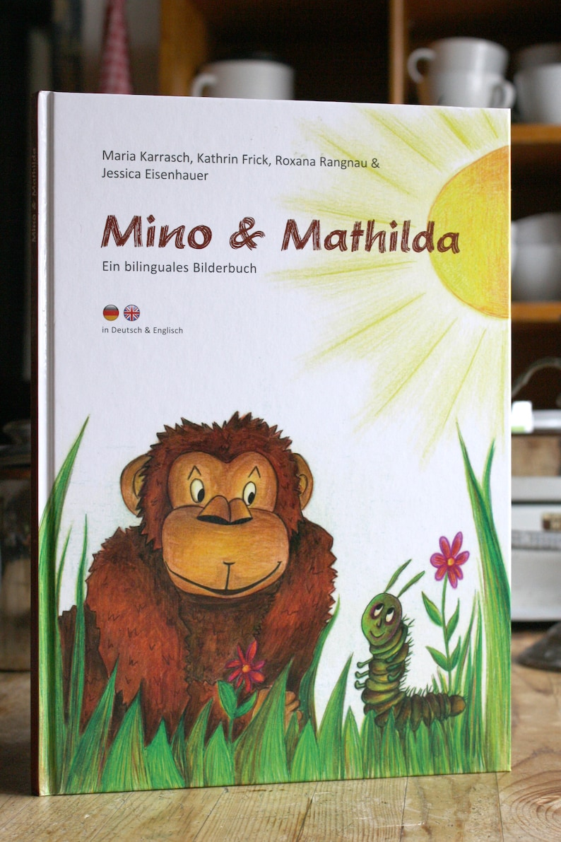 Mino & Mathilda  A bilingual picture book in German and image 0