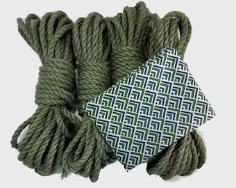 Evergreen shibari rope bondage kit - seasonal