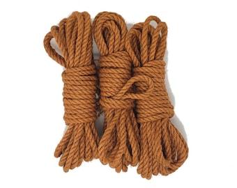 Jute bondage rope - Pumpkin Pie - seasonal