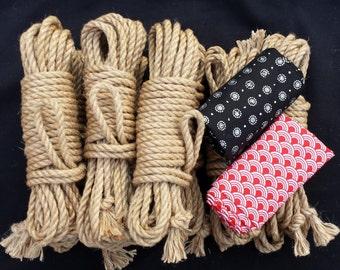 Intermediate shibari rope bondage kit